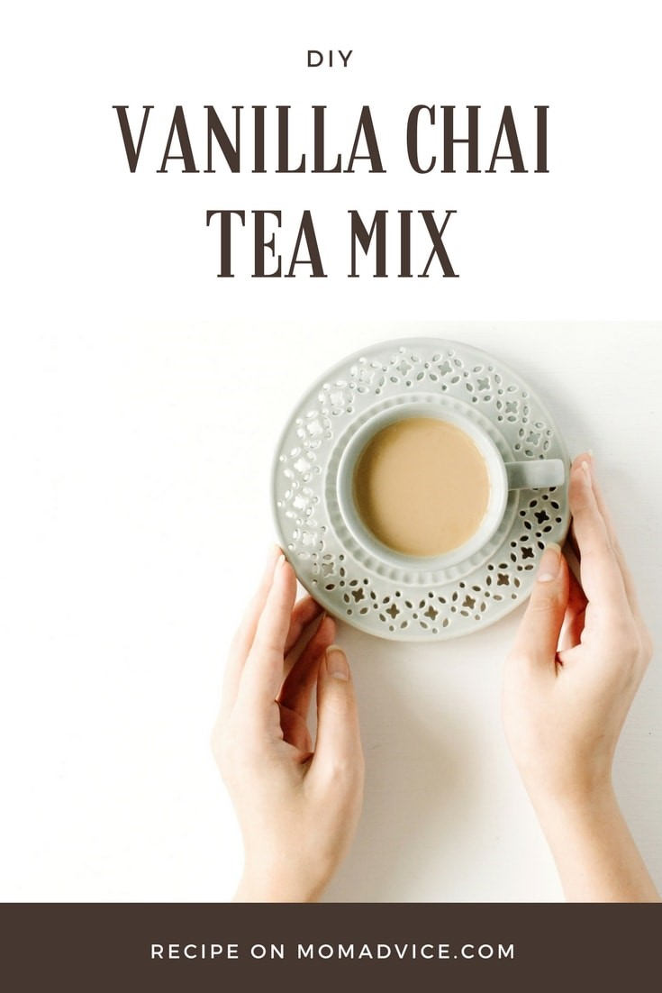 DIY Vanilla Chai Tea Mix from MomAdvice.com