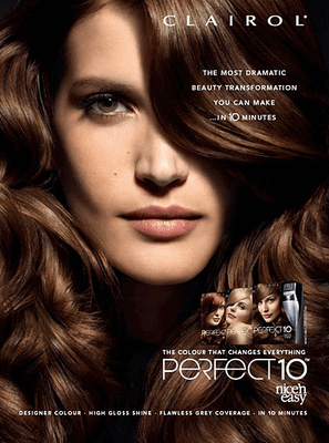 Perfect-10 hair color