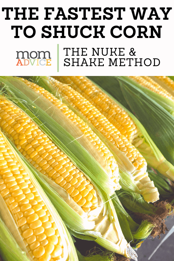 How to Shuck Corn Quickly Header