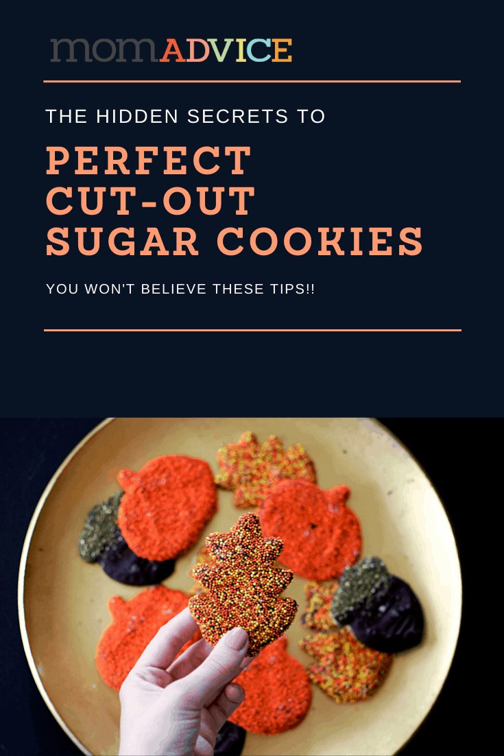 The Hidden Secrets to Perfect Cut-Out Sugar Cookies from MomAdvice.com