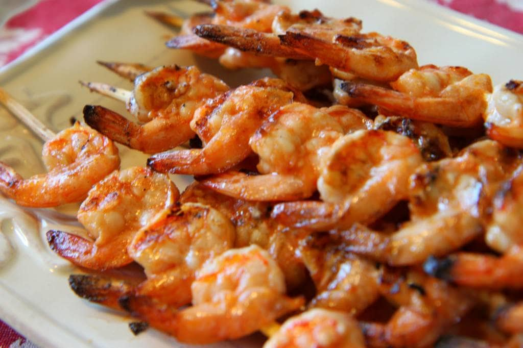 at 2800 × 1867 in Marinated Grilled Shrimp With Perfect Margaritas ...