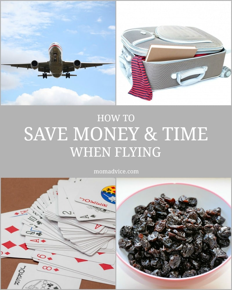 How to save money and time when flying