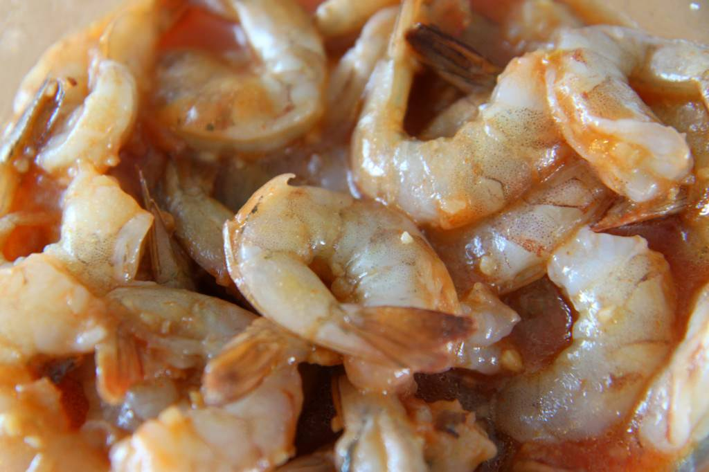 Marinating Shrimp