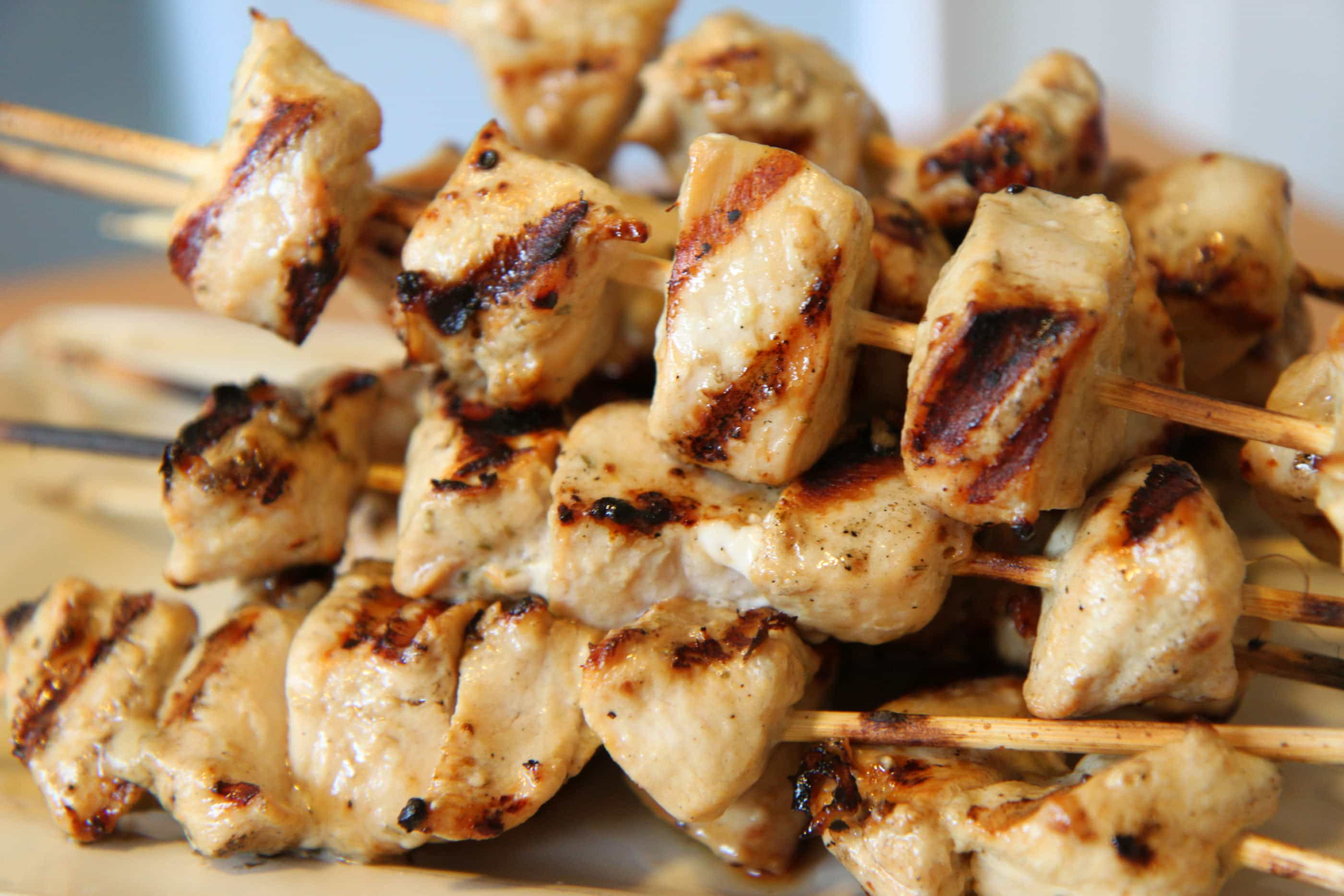 Grilling Out: Rosemary Ranch Chicken Kabobs - MomAdvice