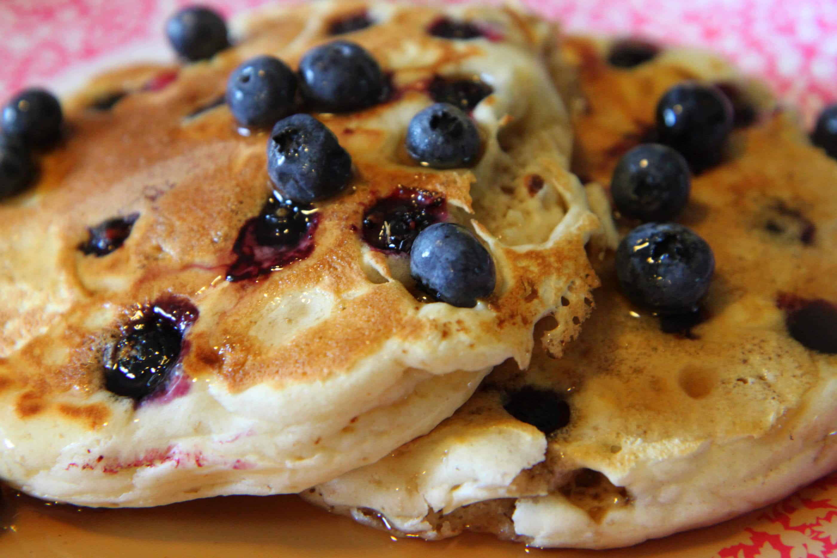 blueberry pancakes 2