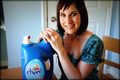 Giveaway Results: Cheer Detergent for a Year