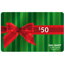 Giveaway Results: $50 Walmart Gift Cards (5 Winners)
