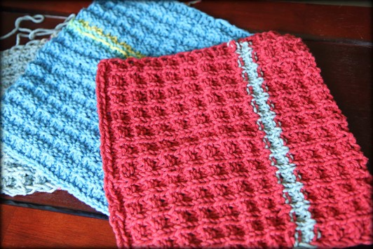 Green Spring Cleaning Craft: Knitted Dishcloths & ...