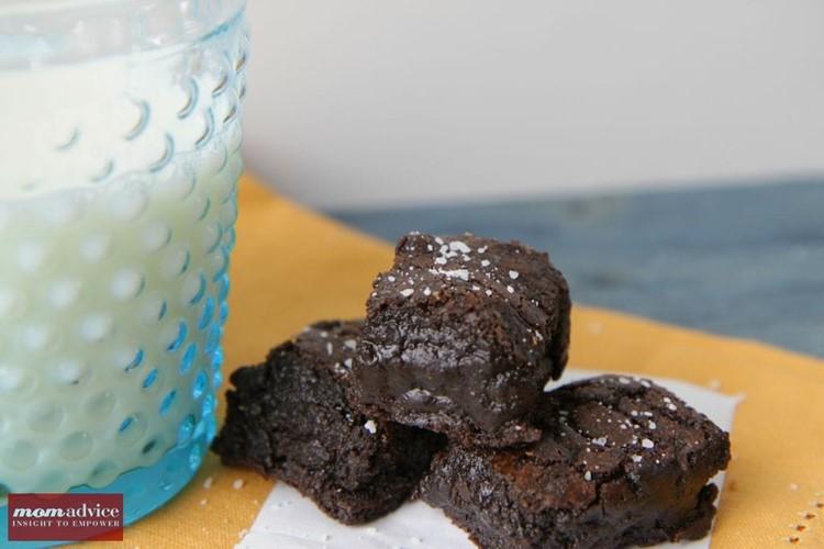 Dark Chocolate & Sea Salt Brownies