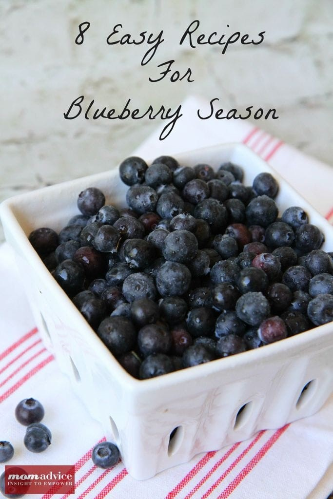 8 Inspirational Recipes for the Blueberry Season