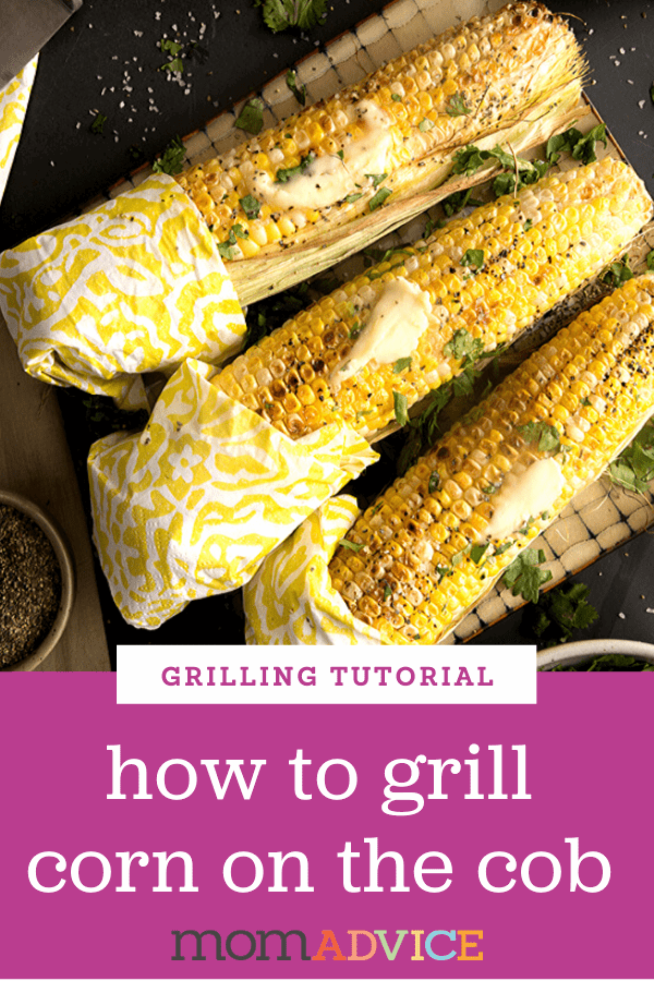 Corn on the Cob on the Grill Header