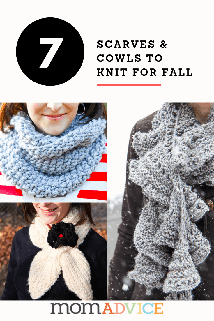 7 easy scarves and cowls to knit for fall