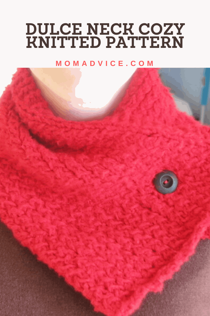 How to Knit a Dolce Neck Cozy Pattern