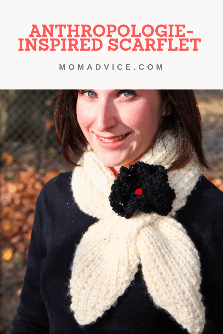 How to Knit An Anthropologie Inspired Scarflet from MomAdvice.com