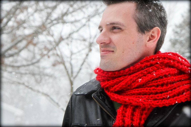 How to Knit the Merci Scarf Pattern for Men from MomAdvice.com