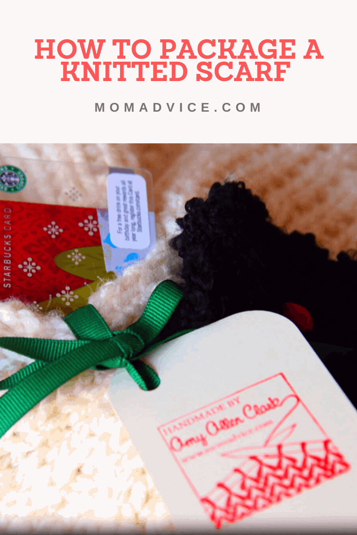 How to Package a Knitted Scarf from MomAdvice.com