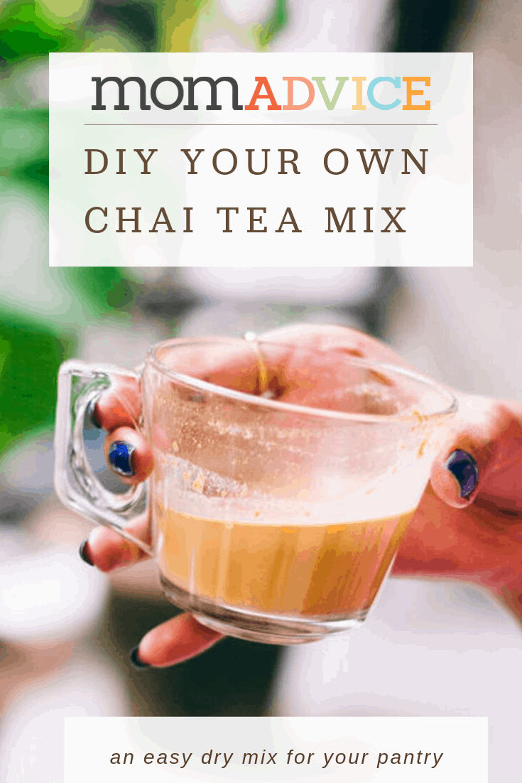 DIY Your Own Chai Tea Mix from MomAdvice.com