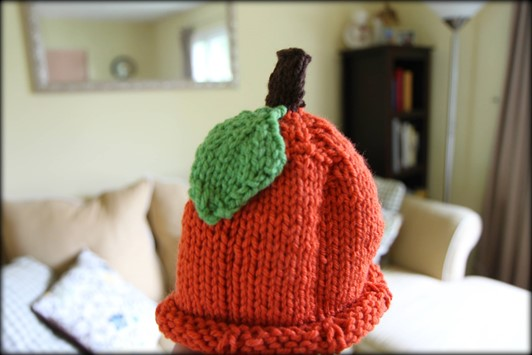 Round-Up of Knitted Pumpkin Hats