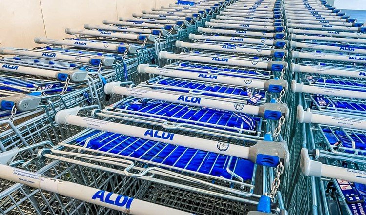 Quarter for ALDI Carts
