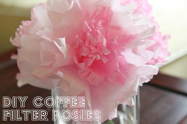 Coffee Filter Flowers from MomAdvice.com