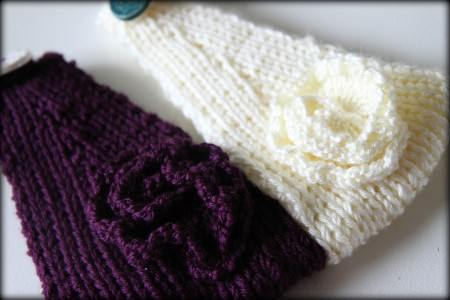 how to knit ear warmers | Diigo Groups