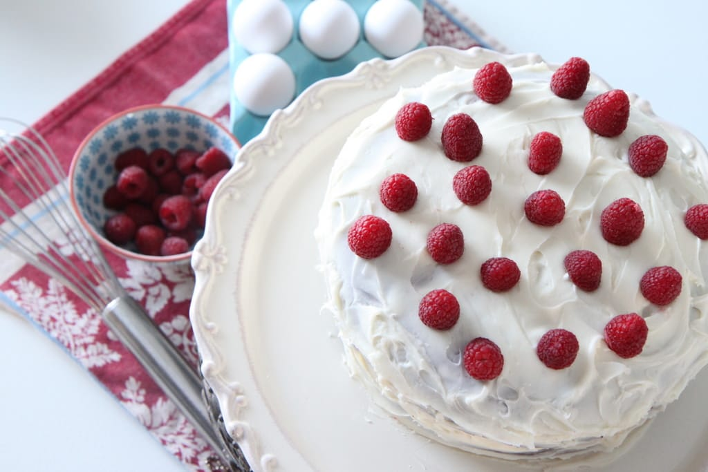 Red Velvet Cake With Cream Cheese Icing Recipe — Dishmaps