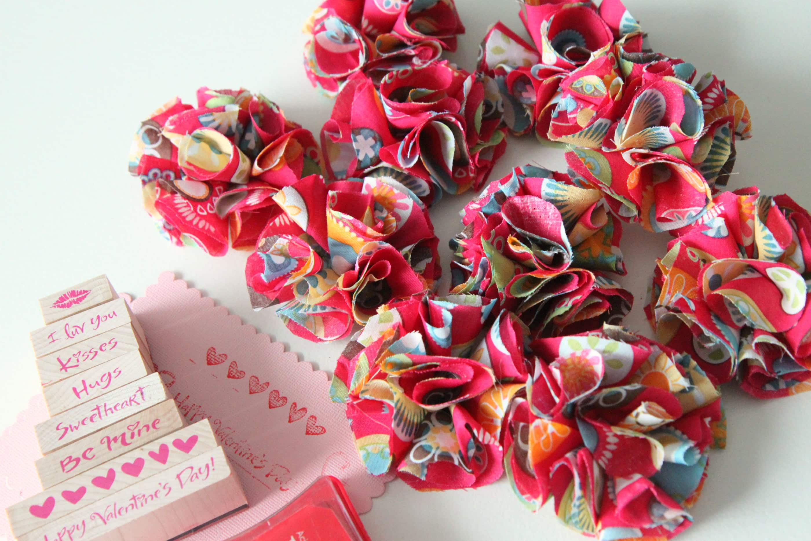 Happy Homemade Valentines & a Valentine Link-Up