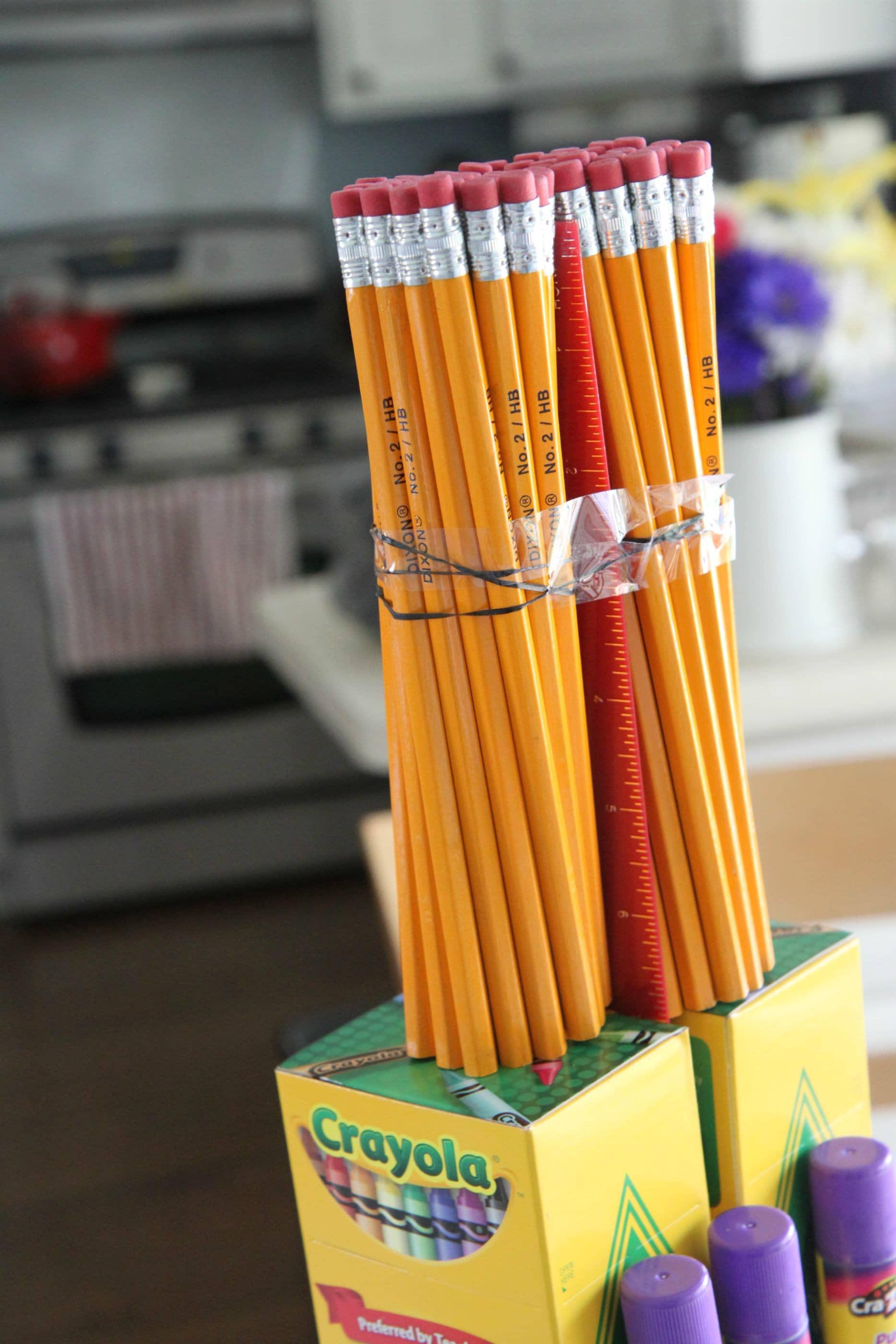 Teacher School Supplies Cake