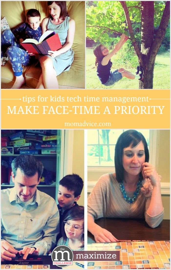 Tips to Manage Kids Tech Time by Making Fact Time a Priority