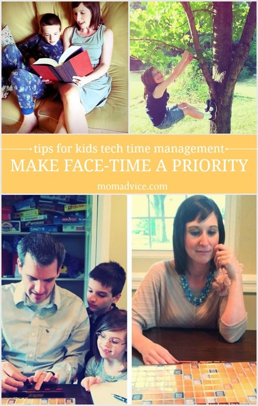 Making Face Time a Family Priority