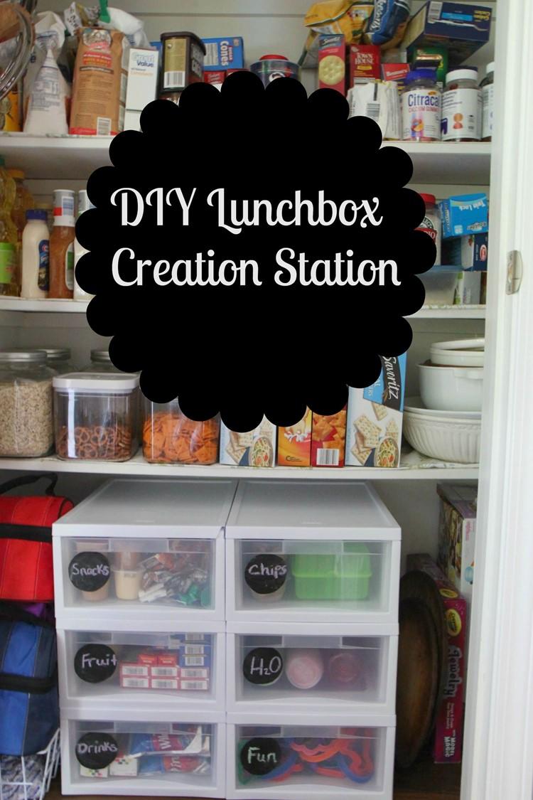 Diy Lunchbox Creation Station Momadvice