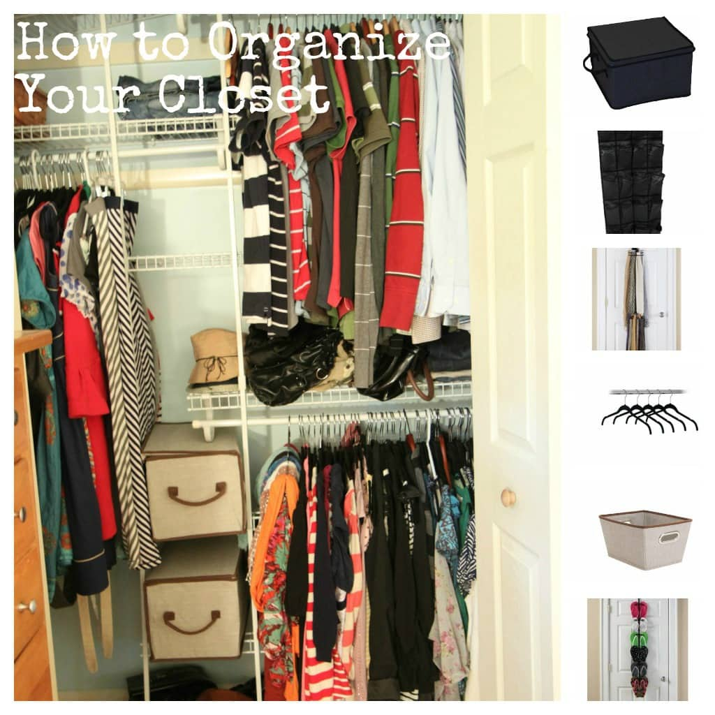 Tips tools for affordably organizing your closet momadvice for Ideas to organize closets