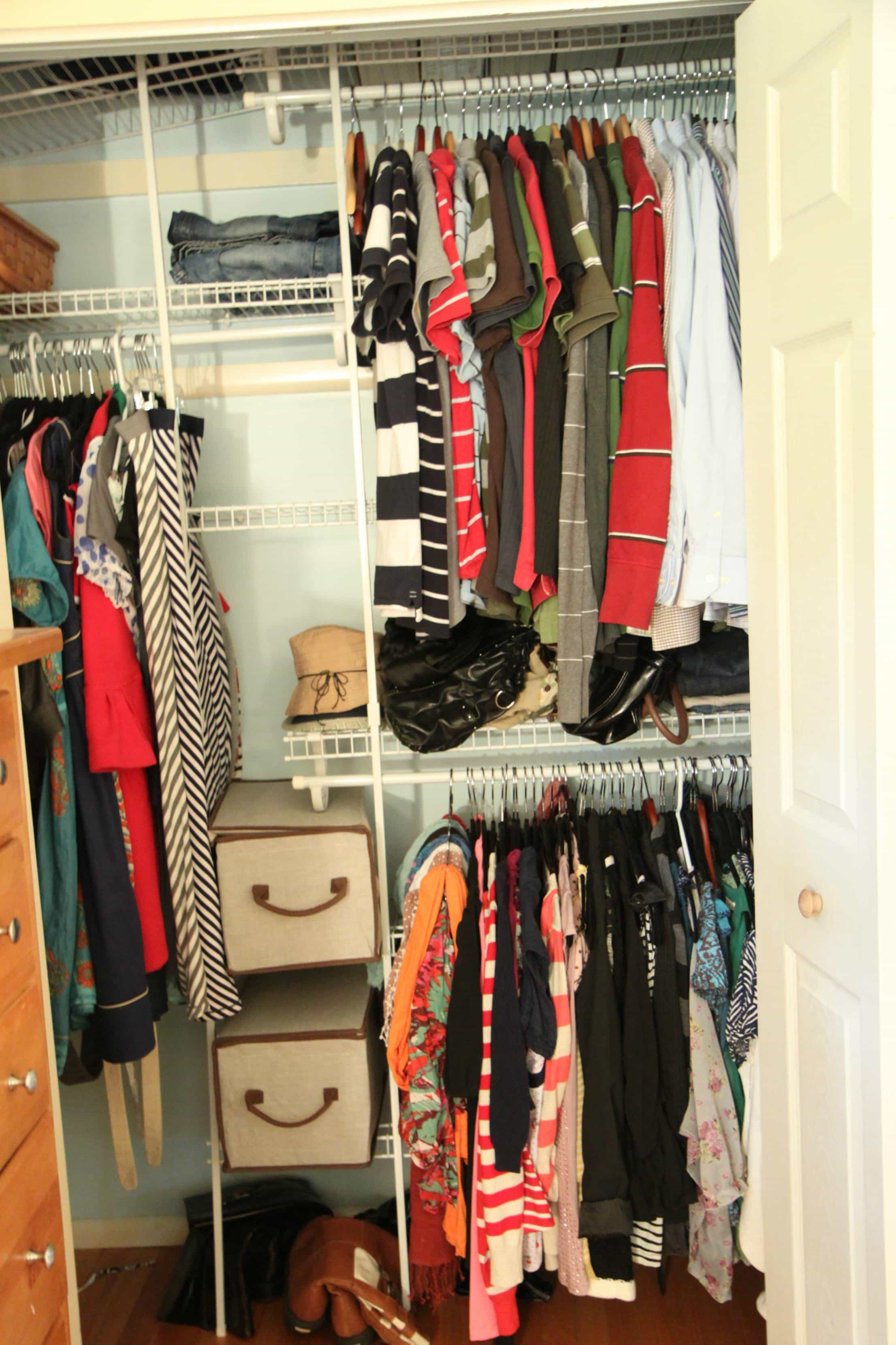 Create Hidden Storage. Tips   Tools for Affordably Organizing Your Closet   MomAdvice