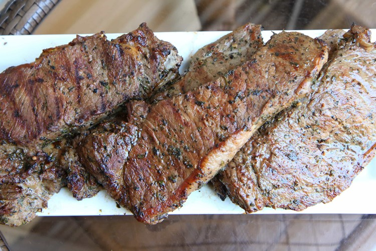 The World's Best Steak Marinade