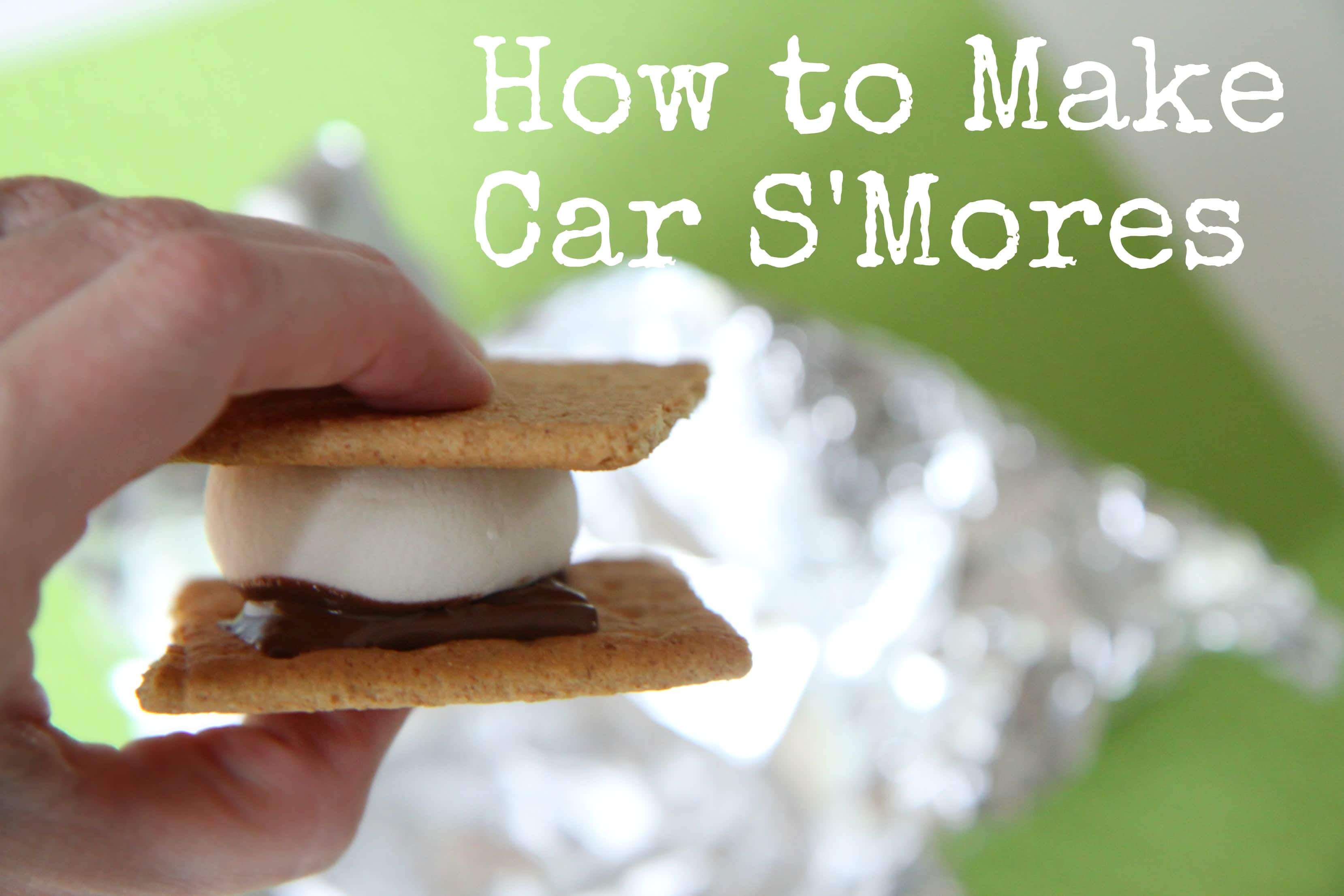 How to Make Car S'mores