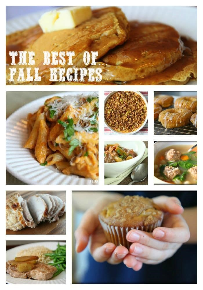 The Best of Fall Recipes from MomAdvice.com.