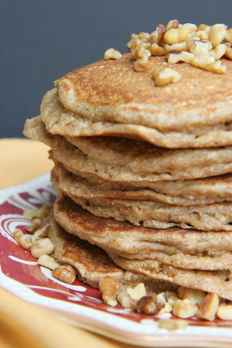 Grain and Nut Whole Wheat Pancakes - MomAdvice