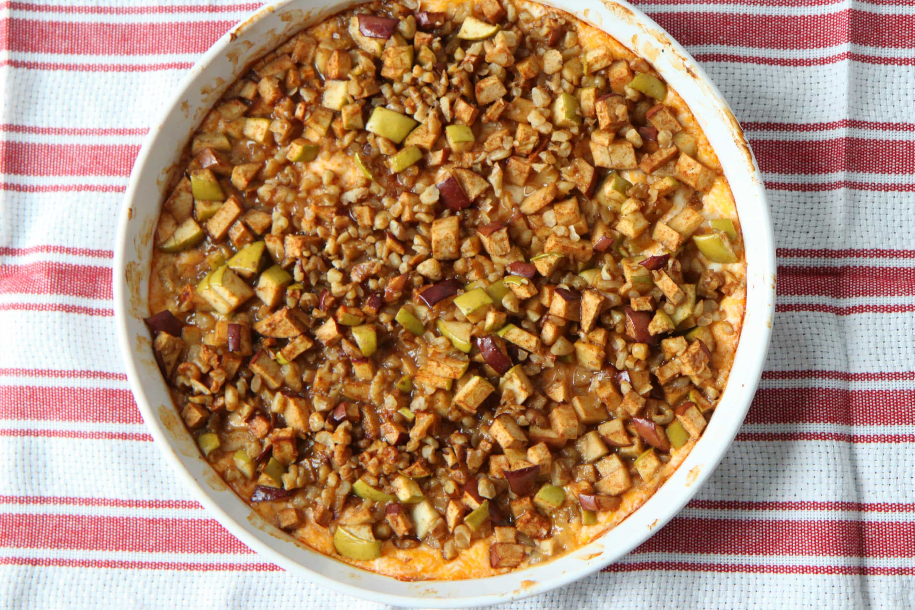 Cheddar Apple Pie Dip from MomAdvice.com