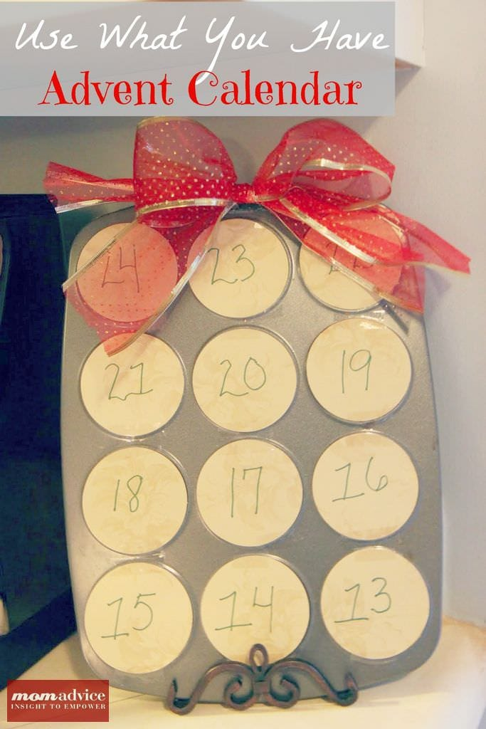Use What You Have Diy Advent Calendar Momadvice