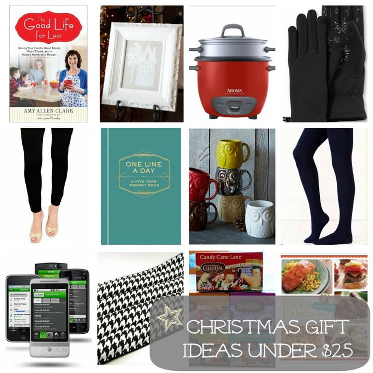 Christmas Gift Ideas Under $25 For The Ladies