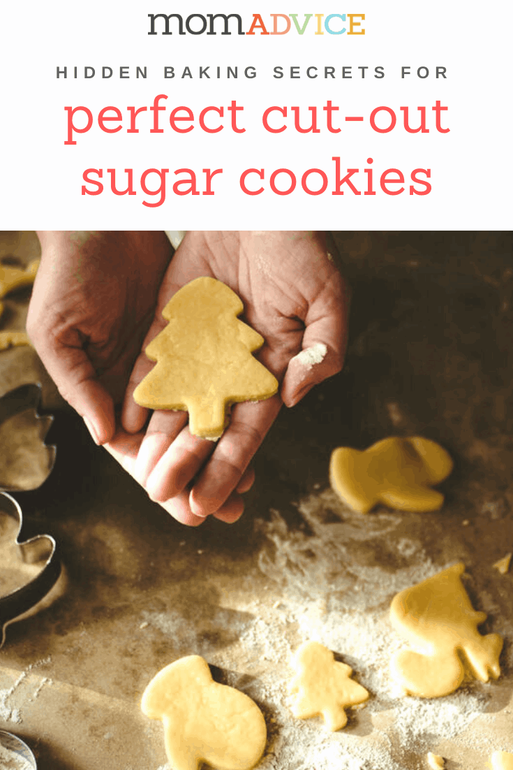 Perfect Cut-Out Sugar Cookies from MomAdvice.com