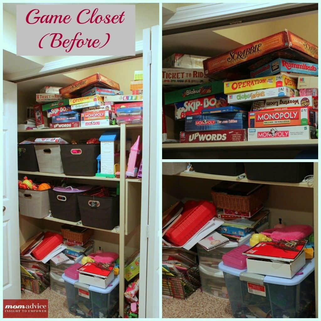 How to organize board games momadvice for Board game storage solutions