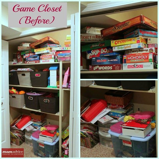 How to Organize Board Games