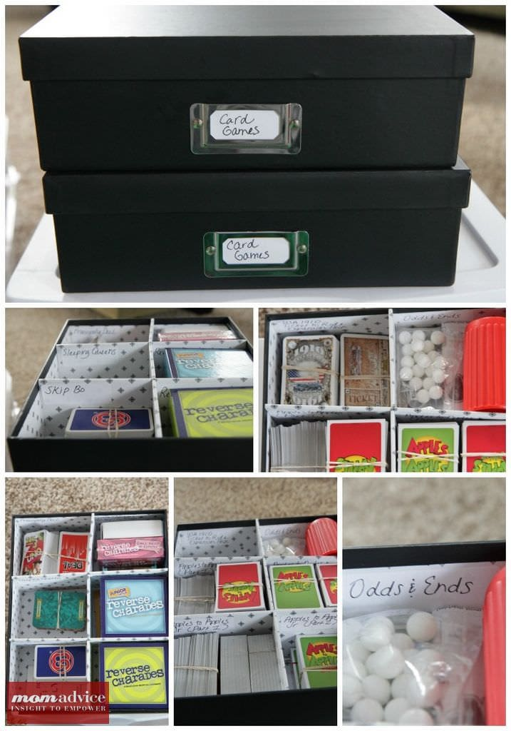 How To Organize Board Games Momadvice