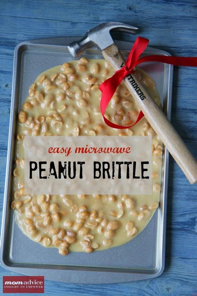 Microwave Peanut Brittle