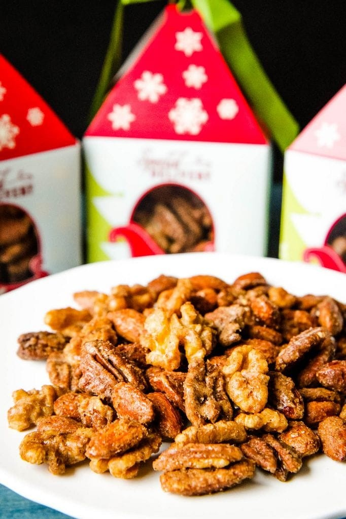 Sugar & Spice Candied Nut Mix Packaging Idea