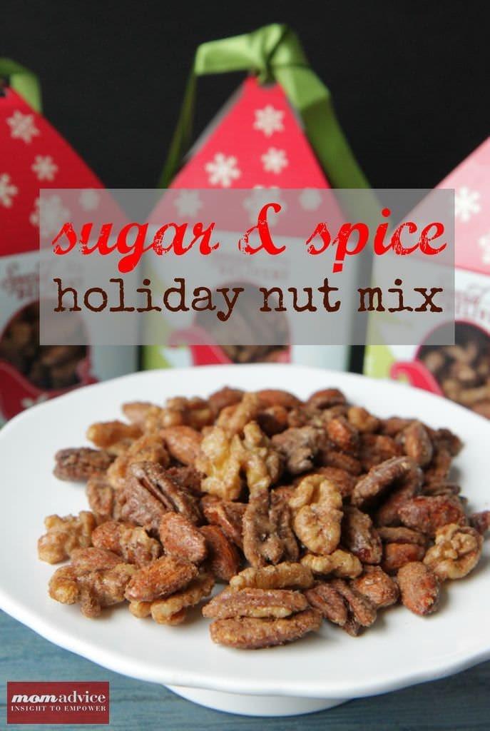 Sugar & Spice Nut Mix MomAdvice.com