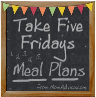 Take Five Fridays Meal Plans