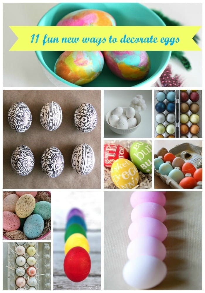 11 Fun New Ways to Decorate Eggs
