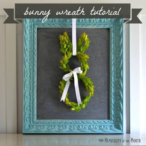 Bunny-boxwood-wreath